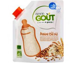 Céréales Avoine Blé et Riz Bio Dès 6 Mois Good Gout