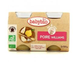 Poire Williams Bio Dès 4 Mois BabyBio