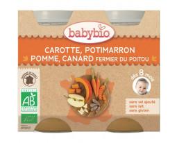 Carotte Potimarron Pomme Canard Bio Dès 8 Mois BabyBio