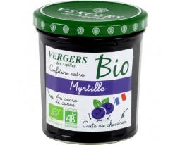 Confiture de Myrtilles Extra Bio Vergers des Alpilles