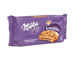 Cookies Coeur Chocolat et Pépites Sensations Milka