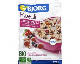 Muesli Super Fruits Sans Sucre Ajouté Bio Bjorg