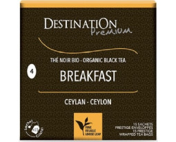 Thé English Breakfast Bio Destination Premium