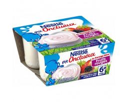 Fromage Blanc Fruits Rouges Petit Onctueux Dès 6 Mois Nestlé