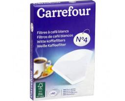 Filtres à Café No4 Carrefour