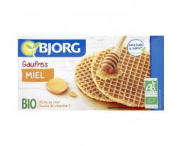 Gaufres Miel Farine Semi-Complète Blé Bio Bjorg