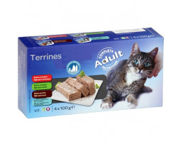 Terrines pour Chat Assortis Grand Jury