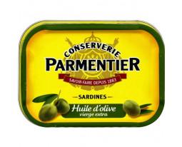 Sardines à l'Huile d'Olive Vierge Extra Parmentier