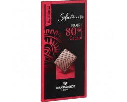 Chocolat Noir 80% Carrefour Sélection