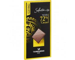 Chocolat Noir 72% Carrefour Sélection