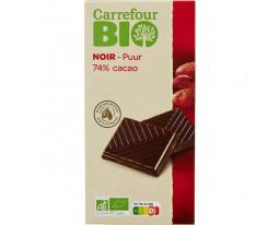 Chocolat Noir 74% Bio Carrefour