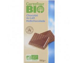 Chocolat au Lait Bio Carrefour