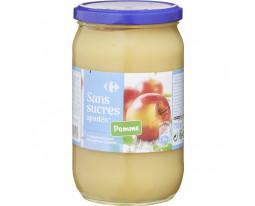 Compote de Pomme Sans Sucres Ajoutés Carrefour