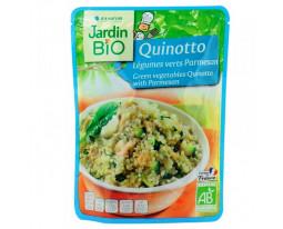 Quinotto aux Légumes Verts et Parmesan Bio Jardin Bio