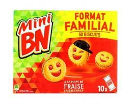 Mini Goûters Fourrés Fraises Pocket BN