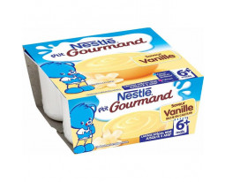 Dessert Vanille Petit Gourmand Dès 6 Mois Nestlé