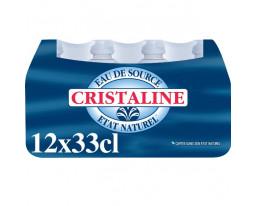 Eau de Source Naturelle Bouchon Sport Cristaline