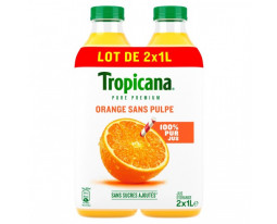 Pur Jus d'Orange Sans Pulpe Pure Premium Tropicana