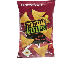 Chips Tortillas Goût Mexicain Carrefour