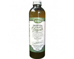 Shampoing d'Alep Huiles d'Olive et Laurier Alepia