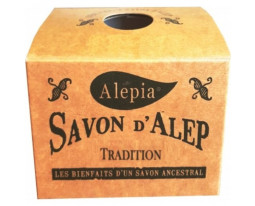 Savon d'Alep 99% Huile d'Olive Tradition Alepia