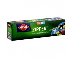 Sacs Zipper 1 Litre Albal