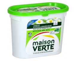 Lessive Hypoallergénique Huiles Essentielles Eco Maison Verte