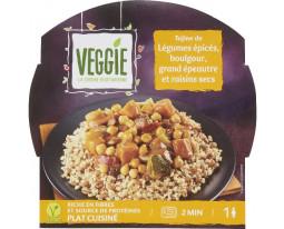 Tajine de Légumes Epicés et Boulgour Vegan Carrefour