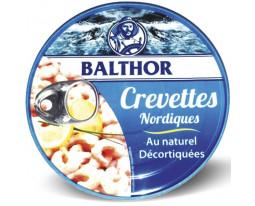 Crevettes Nordiques au Naturel Décortiquées Balthor