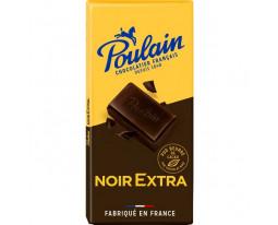 Chocolat Noir Extra Fin Pur Beurre Cacao Poulain