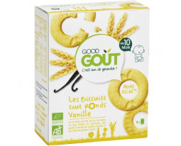 Biscuits Tout Ronds Vanille Pocket Bio Dès 10 Mois Good Gout