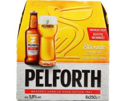 Bière Blonde 5.8% Vol. Pelforth