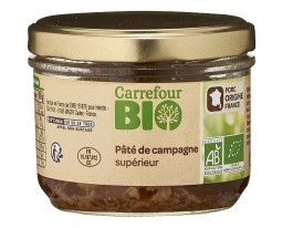 Pâté de Campagne Supérieur Bio Carrefour