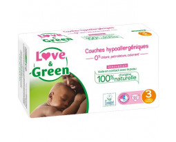 Couches Midi Hypoallergéniques T3 Love&Green
