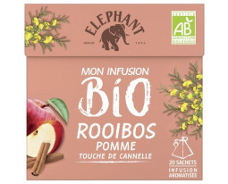Infusion Rooibos Pomme Bio Eléphant