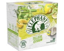 Infusion Tilleul et Citron Eléphant