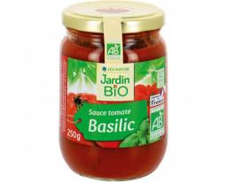 Sauce Tomate au Basilic Bio Jardin Bio