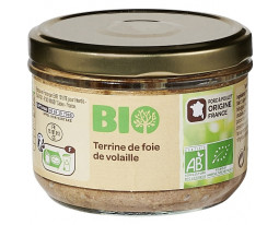Terrine de Foie de Volaille Bio Grand Jury