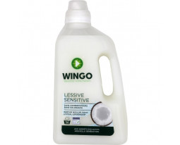 Lessive Liquide Sensitive Noix de Coco Biodégradable Wingo