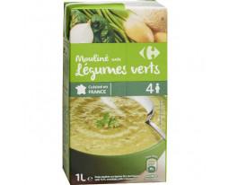 Mouliné aux Légumes Verts Carrefour
