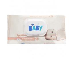 Lingettes Bébé Sensitive Sans Parfum Carrefour Baby