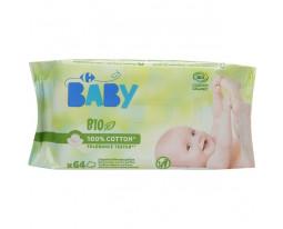 Lingettes Bébé Sans Parfum Bio Carrefour Baby
