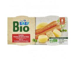 Légumes et Veau Bio Dès 8 Mois Carrefour Baby
