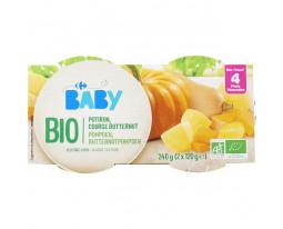 Courge Butternut Pomme de Terre Bio Dès 4 Mois Carrefour Baby