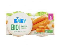 Carottes Bio Dès 4 Mois Carrefour Baby