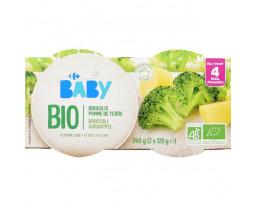 Broccoli Pomme de Terre Bio Dès 4 Mois Carrefour Baby