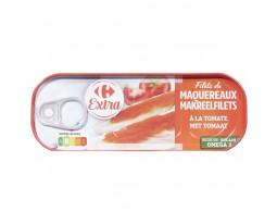 Filets de Maquereaux Sauce Tomate et Basilic Carrefour