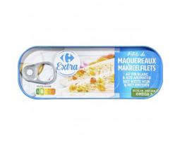 Filets de Maquereaux au Muscadet et 5 Aromates Carrefour
