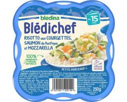 Risotto Courgettes Saumon et Mozzarella Dès 15 Mois Blédina