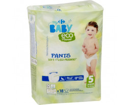 Couches Culottes Taille 5 12-18kgs Eco Carrefour Baby